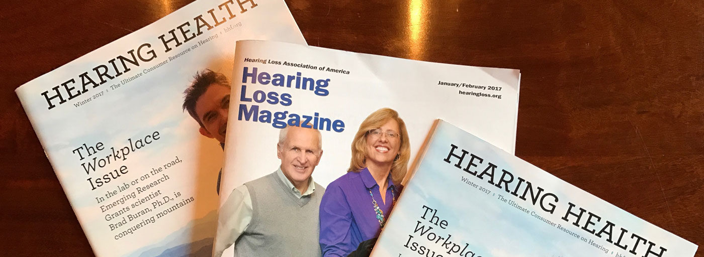 Hearing Loss Health Magazine-Covers
