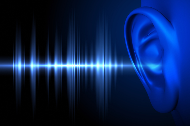 hearing sound waves