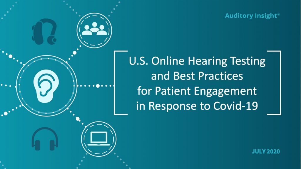 U.S. Online Hearing Testing and Best Practices for Patient Engagement in Response to Covid-19